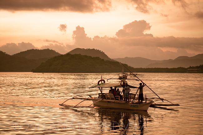 Filipiny_Busuanga_Coron, zachód słońca, DSC_4943