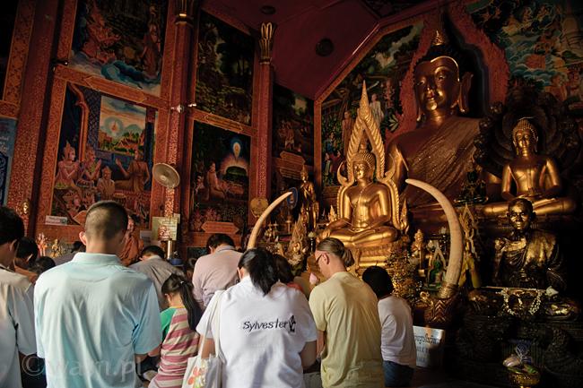 Tajlandia, Chiang Mai. Wat Prathat Doi Suthep, DSC_8571