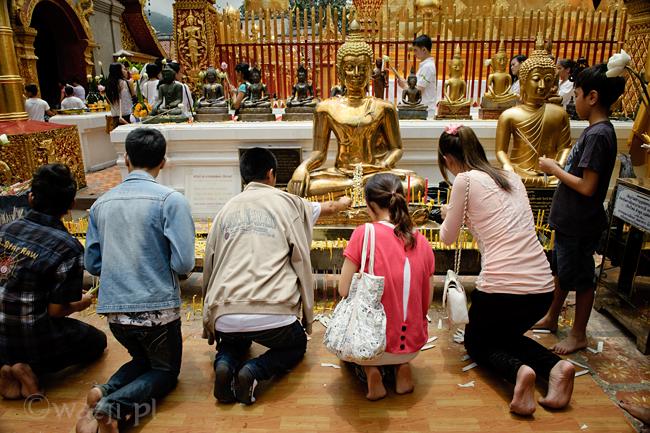Tajlandia, Chiang Mai. Wat Prathat Doi Suthep, DSC_8585