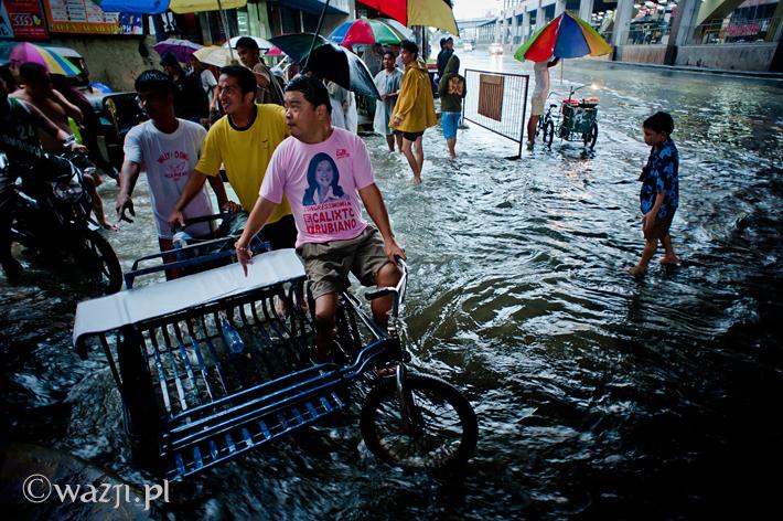 Powódź w Manili