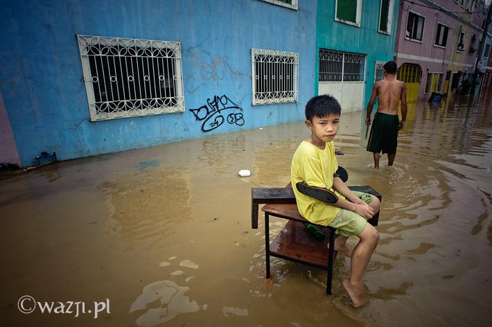 Powódź w Manili, dzień 3.