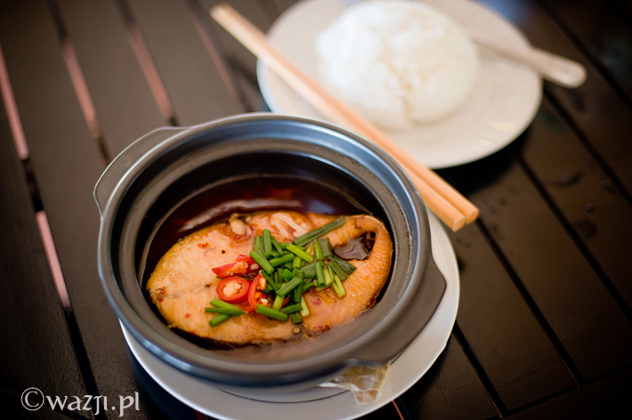 Vietnam_carmelized_fish_clay_pot, DSC_8404