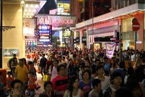 Hong_Kong_Tlumy Chinczykow na ulicach, IMG_7732