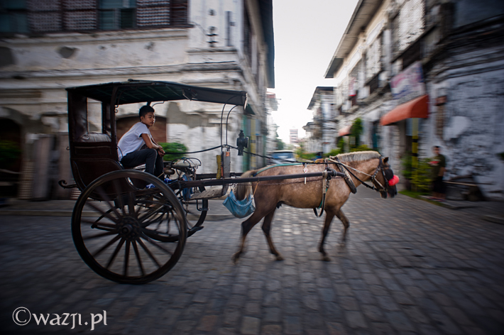 Filipiny_Ilocos_Vigan_Calle_Crisologo_kalesa, DSC_5595