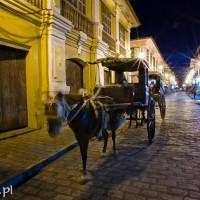 Filipiny_Ilocos_Vigan_Calle_Cristologo_kalesa, DSC_5764