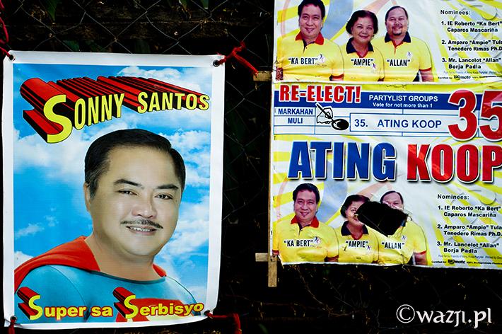 Wybory na Filipinach, czyli znajdź różnice