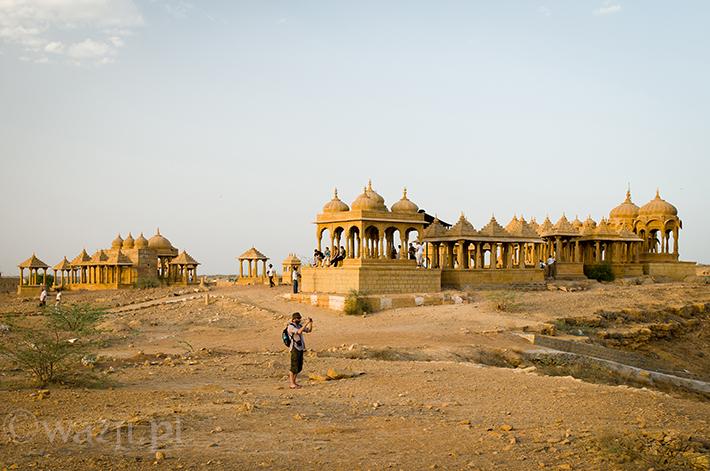 Indie_Rajasthan_Jaisalmer_Vvyas_Chhatris, DSC_0682