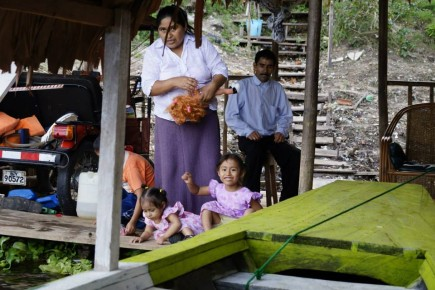 rodzina z Iquitos