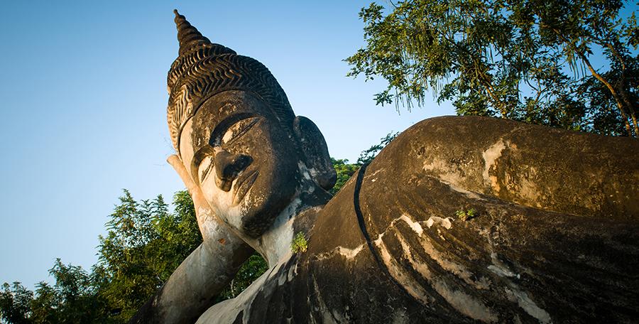 Buddha Park, czyli szalony mnich w akcji