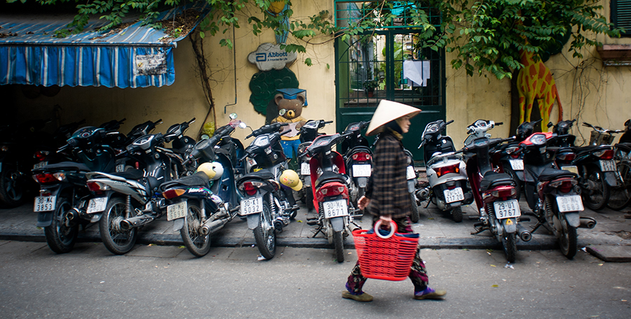 [Foto] Jeśli na spacer, to do Hanoi