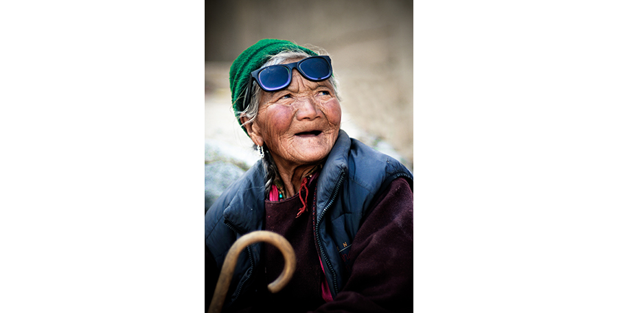 Historia jednej fotografii: Kumoszki z Phyang