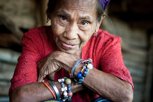 Historia jednej fotografii: Sąsiadka Dina