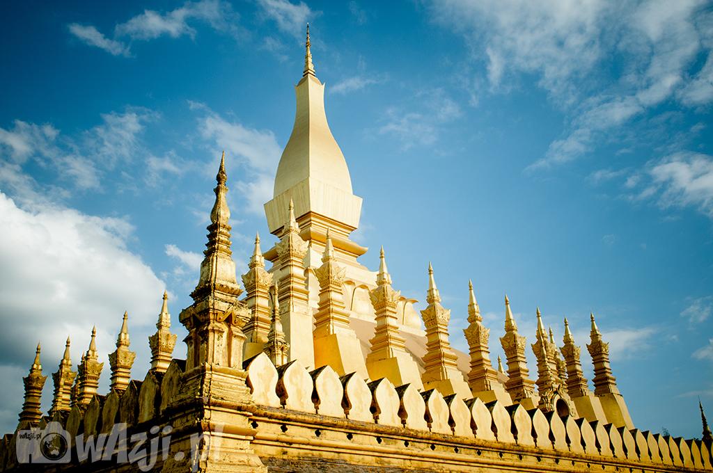 Wielka Stupa w Vientiane.
