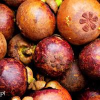 Bali 2008. Mangosteen - wówczas nasze ulubione owoce.