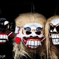 Bali 2008. Balijskie maski.