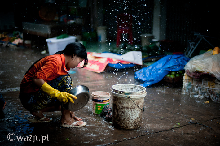 Pada deszcz w Cần Thơ