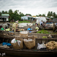 Vietnam_Mekong_Delta_Phong_Dien_floating_market, , DSC_7494