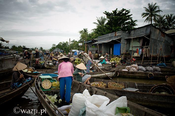 Vietnam_Mekong_Delta_Phong_Dien_floating_market, , DSC_7498