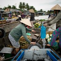 Vietnam_Mekong_Delta_Phong_Dien_floating_market, , DSC_7519