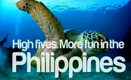 It's even more fun in the Philippines