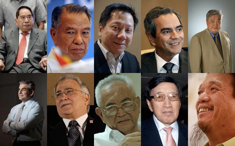 10 najbogatszych Filipińczyków