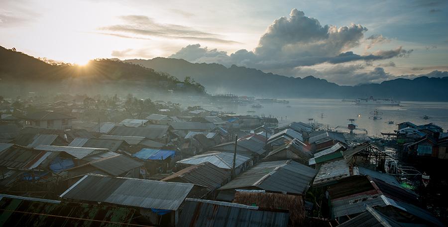 Coron: miesiąc po tajfunie