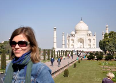 Agra, Taj Mahal stycze 2012