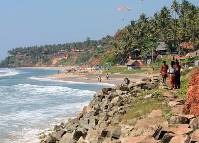 Kerala, Varkala, grudzień 2012