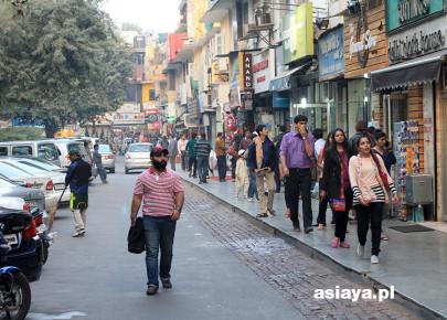 New Delhi, Khan Market, grudzien 2013