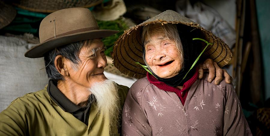 Historia jednej fotografii: Szczęśliwa para z Wietnamu