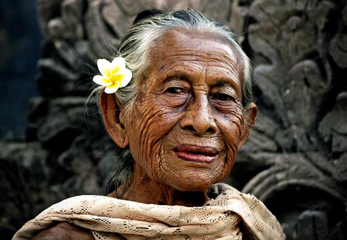 Historia jednej fotografii: Jak się starzeć, to na Bali