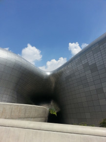 Seoul- nowoczesna architektura DDP Plaza