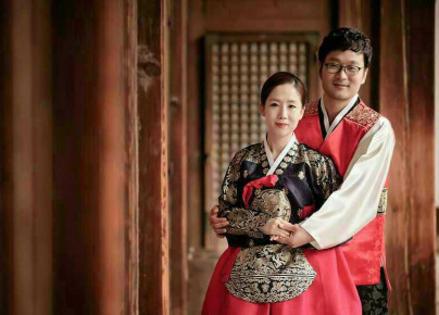 Wesele koreanskie - panstwo mlodzi