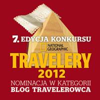 Nominacja do nagrody Travelery 2012