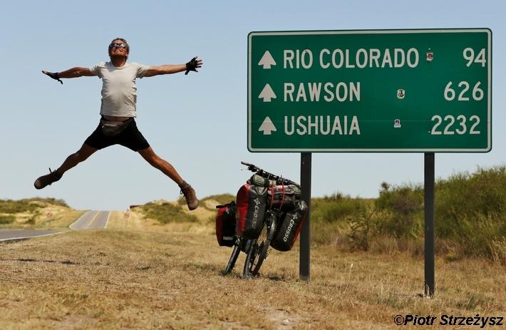 Rowerem z Alaski na południe, fot. Piotr Strzeżysz