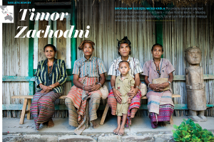 """Timor Zachodni – artykuł w marcowych """"Podróżach"""""""