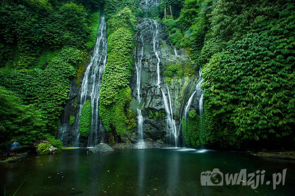Indonezja, Bali. Banyumala - jeden z moich ulubionych balijskich wodospadów. (październik 2015)