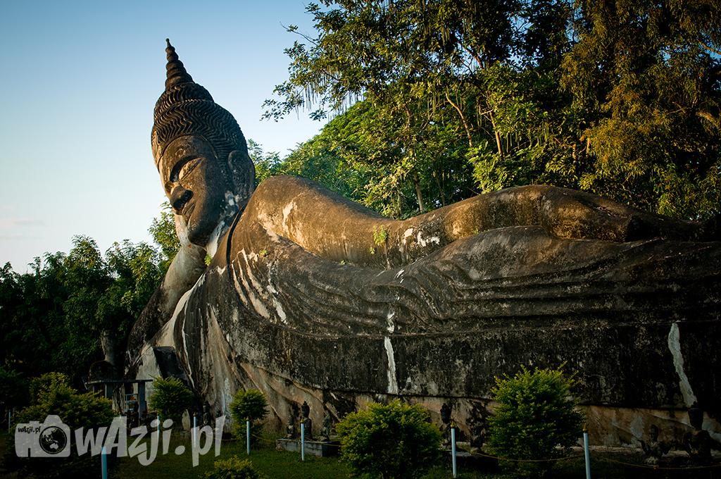 Park Buddy w okolicy Vientiane.