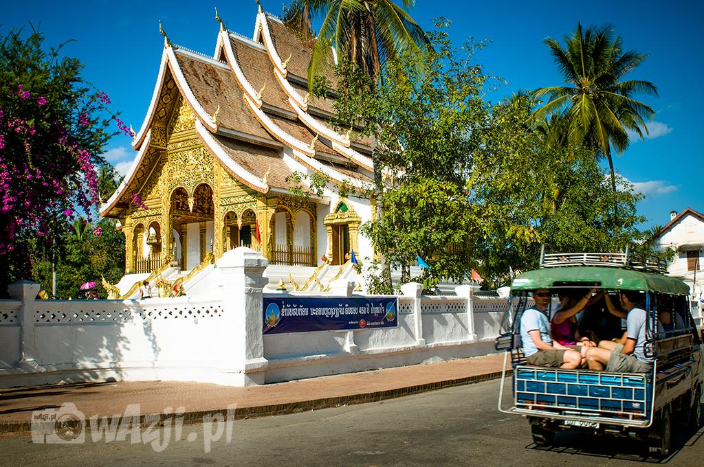 Świątynie w Luang Prabang.