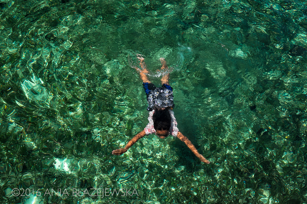 Wyspa Messah, Indonezja. Kwiecień 2016. Jak dobrze byłoby moc jeszcze raz zanurzyć się w tak turkusowej wodzie.