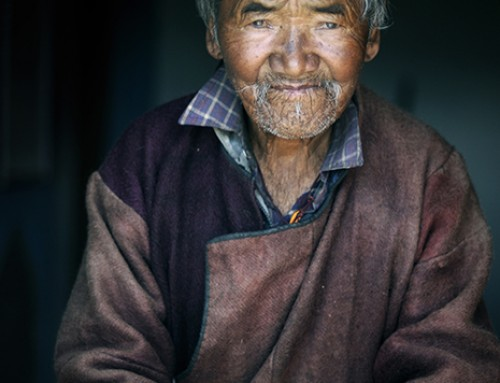 Historia jednej fotografii: Dziadek znad Pangong Tso