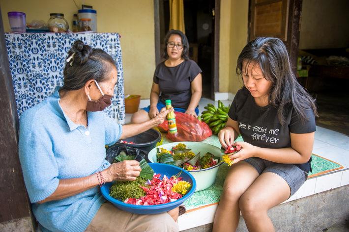 pomoc dla balijskiej wioski